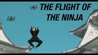 The flight of the Ninja: AR.Drone FanFilm