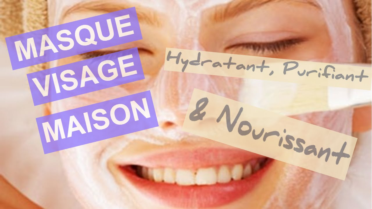 masque visage maison nourrisant hydratant et purifiant recette simple youtube. Black Bedroom Furniture Sets. Home Design Ideas