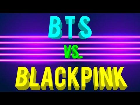 BTS 'Boy With Luv' VS Blackpink 'Kill This Love'   Minecraft 1.14 Speed Build   블랙핑크   방탄소년단