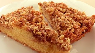 Apple Cinnamon Walnut Cake - Turkish Apple Pie Cake