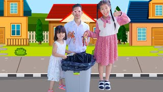 Throw Rubbish Properly and Keep Our City Clean
