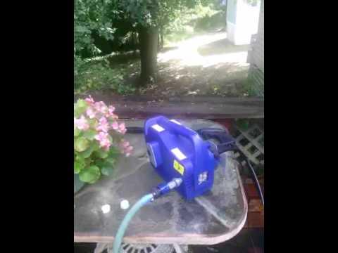 AR118 ELECTRIC 1500 PSI PRESSURE WASHER BLUE CLEAN