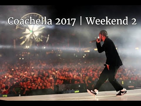 Kendrick Lamar Live | Coachella 2017 Weekend 2