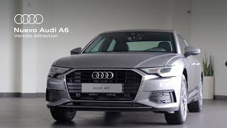 Descubre el nuevo Audi A6 en su versión Attraction