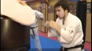 KYOKUSHIN CHAMPION OF THE WORLD TARIEL NIKOLEISHVILI.