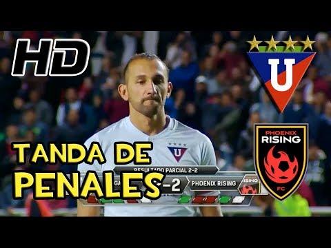 Liga de Quito vs Phoenix Rising 2(3)-2(2) TANDA DE PENALES HD (Drogba vs Barcos)