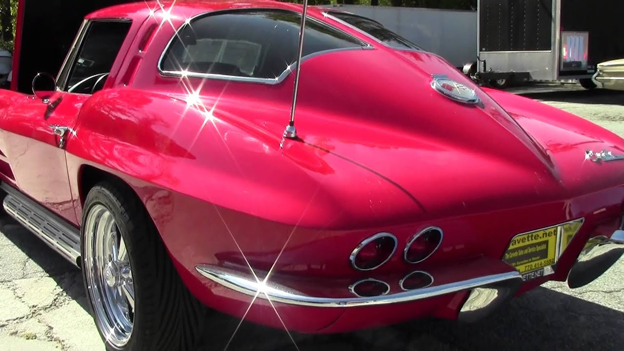 1963 corvette split window coupe showcar youtube for 1967 corvette stingray split window