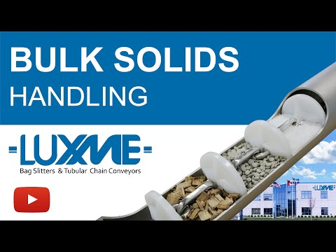 Luxme Bulk Solids Handling Solutions -  Tubular Conveying Systems And Bag Handling Equipment