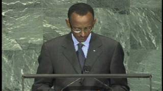 President Kagame addresses the UN General Assembly - New York, 24 September 2009 Part 2/2