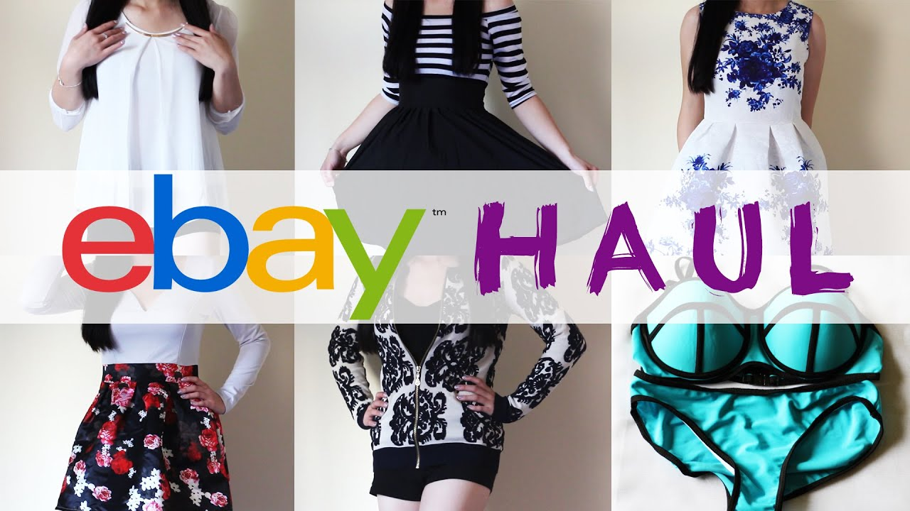 ebay Haul #1 (Affordable Cute Clothes) - YouTube