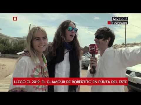 Llegó el 2019: El glamour de Robertito Funes en Punta del Este