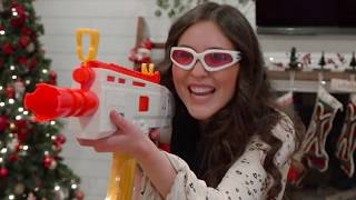Nerf War:  Sister Rivalry!  A Musical Showdown