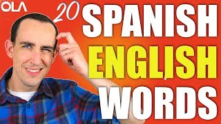 20 Spanish Words That Are Also English 🇬🇧 🇪🇸