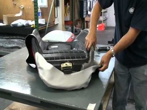 Wcss Diy Pwc Seat Cover Install Youtube