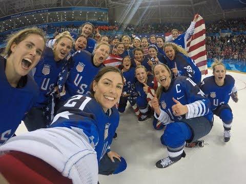 USA Women's Ice Hockey Team: Road to the Gold - 2018 Winter Olympics