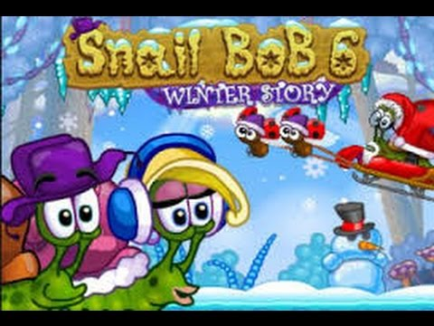 Play Snail Bob 6: Winter Story Game. Levels 11-20