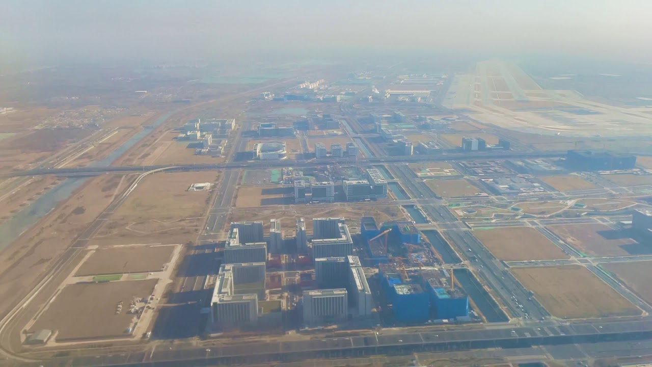 Download Take off from Beijing Daxing International Airport