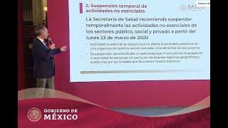 #ConferenciaDePrensa: #Coronavirus #COVID19 | 14 de marzo de 2020