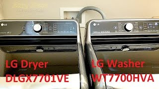 SOLVED - How To Hook Up A Gas Dryer   Quick Overview LG Washer & Dryer Sets