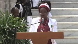 Présentation du Mausolée Omar Bongo Ondimba - 2/2