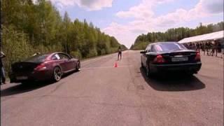 Mercedes CL65 AMG Evotech vs BMW M6 Noelle Stroker