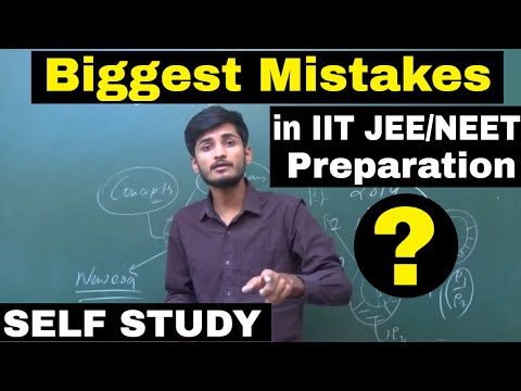 Biggest Mistakes in SELF Preparation | How to crack IIT JEE/NEET without coaching || By-Kartikey Sir