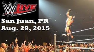 Day in the Life: WWE LIVE in Puerto Rico 2015