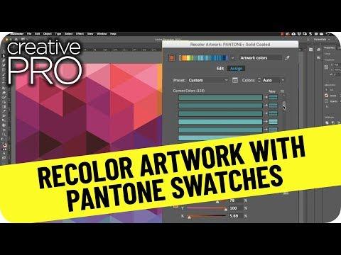 Convert to Pantone with Illustrator Recolor Artwork ft. Theresa Jackson // CreativePro Tutorial thumbnail