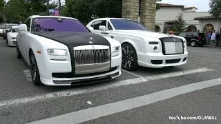 1200HP Bugatti Veyron Super Sport 'Pur Blanc' + Mansory Rolls Royce Drophead!