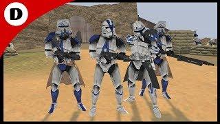 Captain Rex Defends the Fort! - Men of War: Star Wars Mod