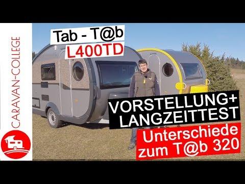 Test: Wohnwagen Tab (T@B) L400TD: Pro & Contra, Tipps + Langzeittest