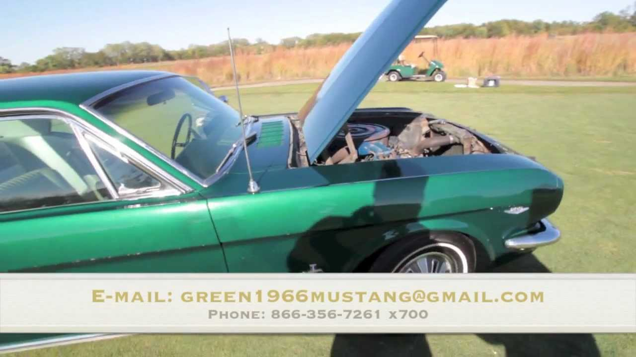 1966 Mustang For Sale Pony Interior Youtube