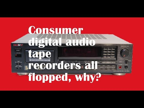 Why no love for consumer digital audio recorders?
