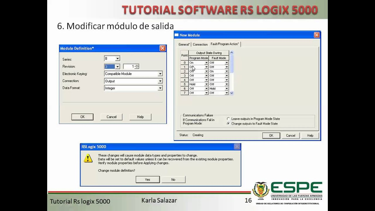 Software RSLogix 5000 - YouTube