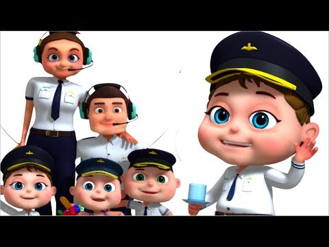 Pilot Finger Family And More | Finger Family Collection | Nursery Rhymes & Kids Songs | Videogyan
