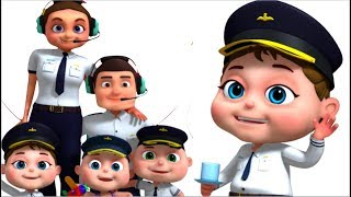 Download Pilot Finger Family And More | Finger Family Collection | Nursery Rhymes & Kids Songs | Videogyan Mp3 and Videos