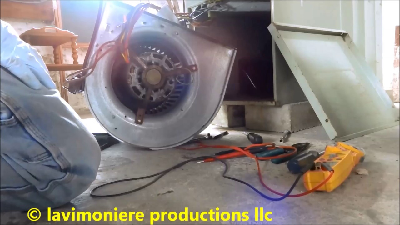 Gas furnace blower fan not working part 1 of 2 youtube for Hvac blower motor not working
