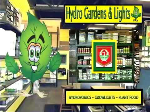 Hydro Gardens Lights Ohio 1 Hydroponics Store YouTube