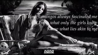 Lana Del Rey - Music to watch Boys To (Lyrics)