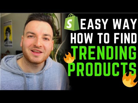 BEST Way To Find TRENDING Product Shopify Dropshipping 2019! Shopify Product Research thumbnail