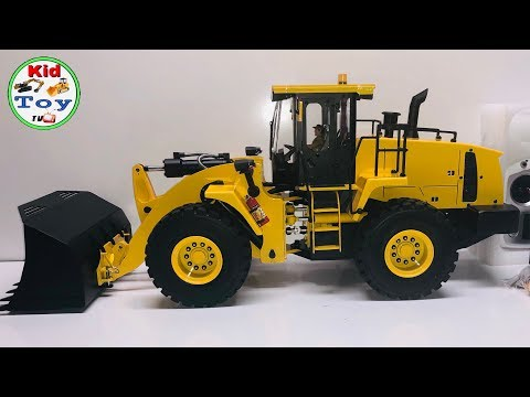 UNBOXING RC FRONTLOADER  HYDRAULIC FULLYMETAL || RC WHEEL LOADER || LIGHTS AND SOUND