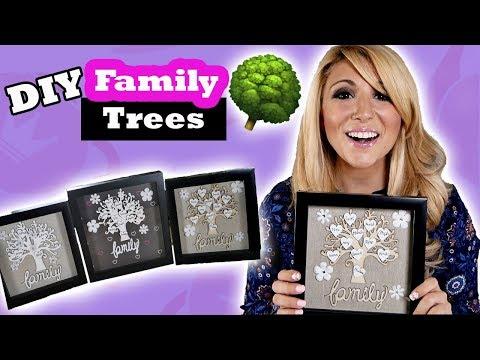 DIY Shadow Box Family Tree Tutorial - Episode 17