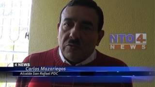 REINSTALARAN PUESTOS DE EMPLEADOS EN  MUNICIPALDIAD DE SAN RAFAEL PIE DE LA CUESTA