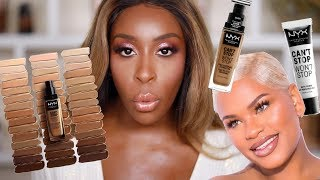 OK Is THAT What We Doing Now?! Alissa Ashley x NYX Can't Stop Won't Stop! | Jackie Aina