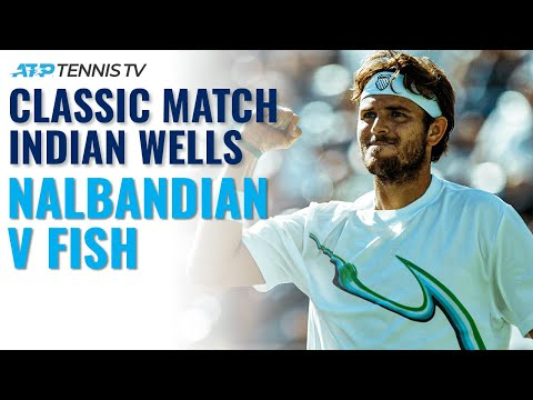 Classic Tennis Highlights: David Nalbandian V Mardy Fish | Indian Wells 2008