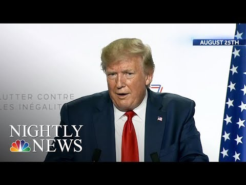 Trump Says His Doral Resort Will No Longer Host G7 Summit After Criticism | NBC Nightly News