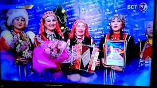 """Килендэштэр""-башкирский танец.Постановка Р Низаметдинова."