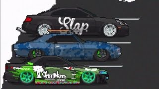 Mobile iOS Pixel Car Racer Snow UPDATE SLAP Paint + 2000hp Club!