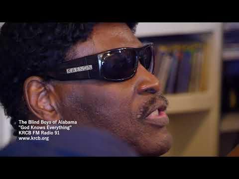 "The Blind Boys of Alabama on KRCB FM Radio 91 - ""God Knows Everything"""