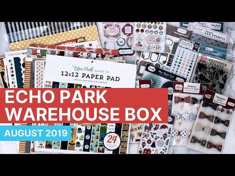 Echo Park Warehouse Box Sale - August 2019
